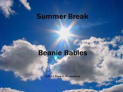 Summer Break Beanie Babies 2017 Title Card