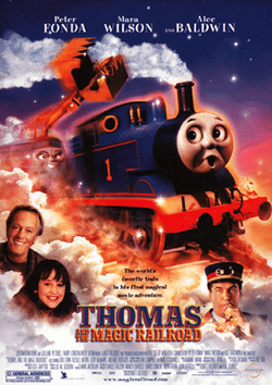 Thomas and the magic railroad poster