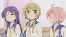 Yuyushiki Ep. 1 Sound Ideas, WOOD, DOOR, SLIDING - RESIDENTIAL SLIDING WOOD DOOR - CLOSE 01 (end portion) (1)