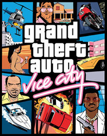 Grand Thefr Auto Vice-city poster
