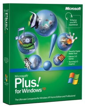 MicrosoftPlus!forWindowsXP CoverArt