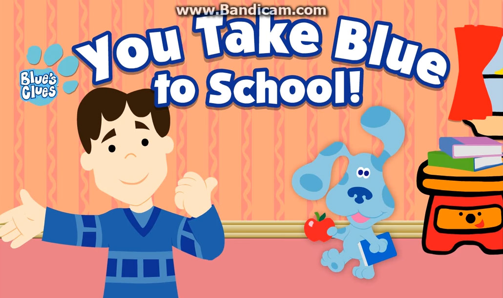 Blue's Clues: You Take Blue to School (Online Games ...