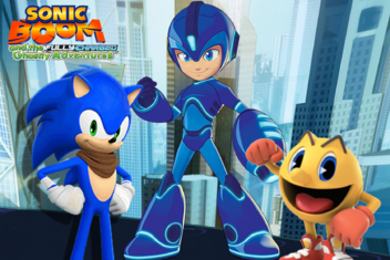 Sonic Boom and the Fully Charged Ghostly Adventures Poster