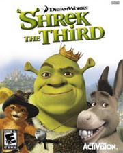 Shrek the Third Video Game Cover