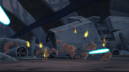 Star Wars Clone Wars CHAPTER 21 SKYWALKER WHISTLING RICOCHET, EXPLOSION ACCENT
