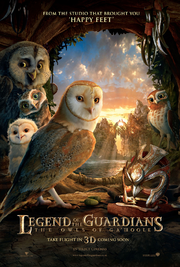 Legend of the guardians the owls of ga'hoole poster