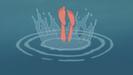 Tarzan Sound Ideas, ROCK, WATER - ROCK SPLASH INTO WATER 03