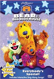 Bear in the Big Blue House Everybody's Special VHS Cover