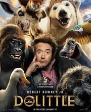 Dolittle 2020 Movie Poster
