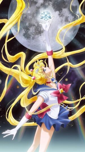 Sailor moon crystal cover