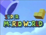 Super mario world tv series title card