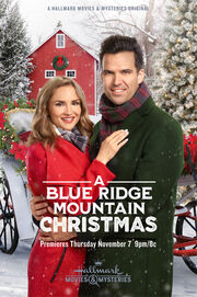 A Blue Ridge Mountain Christmas Poster