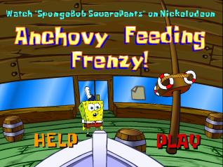 SpongeBob SquarePants: Anchovy Feeding Frenzy | Soundeffects Wiki