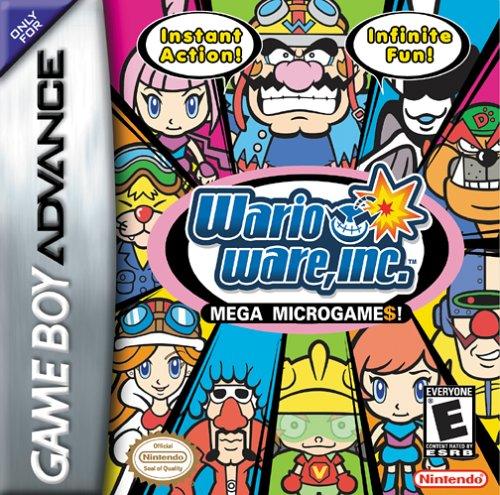 WarioWare, Inc : Mega Microgames! (2003) (Video Games