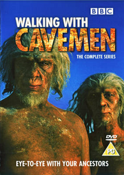 Walking with Cavemen UK DVD Cover