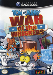 Tom & jerry in war of the whiskers gamecube box art