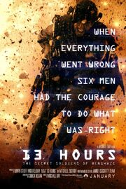 13 Hours The Secret Soldiers of Benghazi Poster