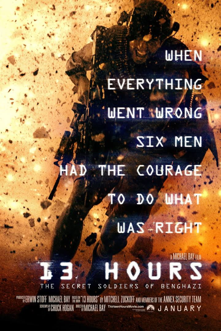 13 Hours The Secret Soldiers Of Benghazi 2016