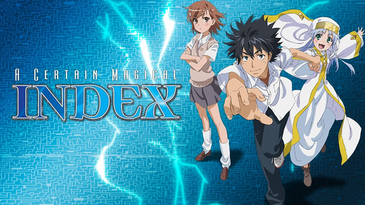 A Certain Magical Index Cover