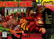 Donkey Kong Country Super Nintendo Box Art