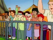 The Magic School Bus Getting Energized Sound Ideas, CROWD, CARTOON - SMALL ANGRY MALE CROWD
