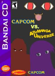 Capcom Vs Azumanga Universe Box Art 1