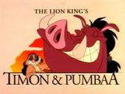 Timon and Pumbaa TV Series Title