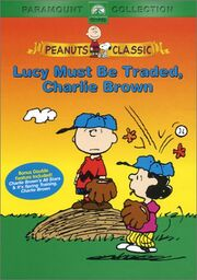 Lucy Must Be Traded, Charlie Brown DVD Cover
