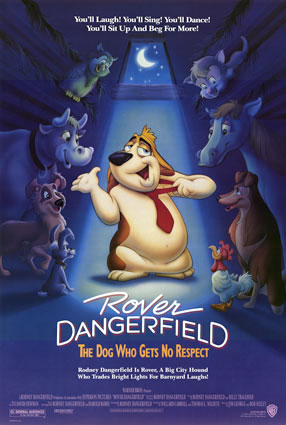 Rover dangerfield poster