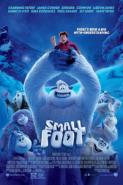 Smallfoot (film) Theatrical release poster