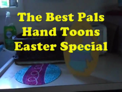 The Best Pals Hand Toons Easter Special 2016 Title Card