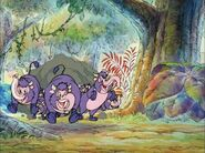 TNAOWTP The Piglet Who Would Be King Sound Ideas, HORSE, CARTOON - FAST GALLOP ON WOOD, LONG-1