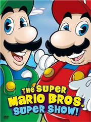 The Super Mario Bros Super Show DVD Cover