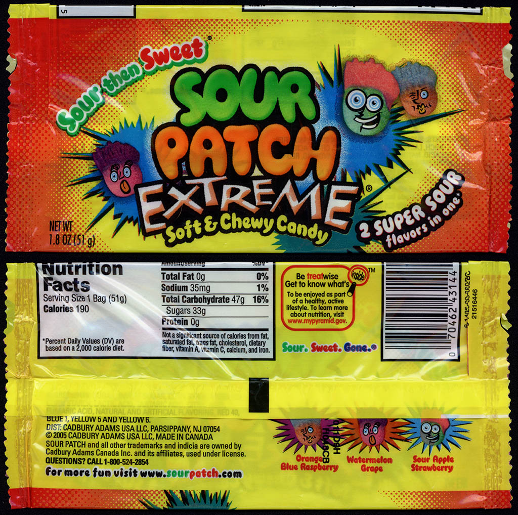 Sour patch kids in paris are called very bad kids: mildlyinteresting.