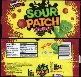 Sour Patch Cherries Sour Patch Kids Wiki Fandom