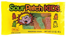 CC Jaret-International-Sour-Patch-Kids-candy-package-from-trade-ad-1993