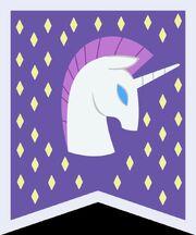 Unicorn banner vector