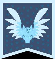 Pegasus banner vector