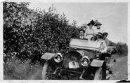 1911 McKay Touring Car PEI Plate 5 Owner Richard C Grant Charlottetown