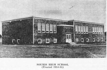Souris High School 1954