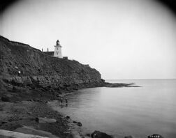 Souris Lighthouse Rocks