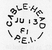 Cable Head Postmark