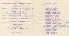 1957 Commencement 2