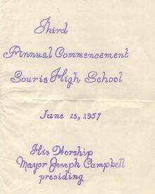 1957 Commencement 1