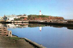 Souris Lighthouse 1987
