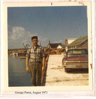 George Paton Naufrage August 1971