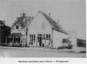 Matthew and MacLean Store Bridgetown