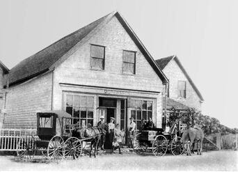 Alexander Robertsons General Store Red Point 1904