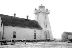 Souris Lighthouse 1906
