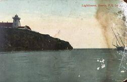 Souris Lighthouse Postcard